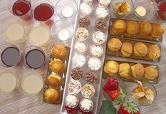 Buffet for a party Royalty Free Stock Image