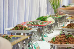 Buffet in party Stock Photo