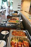 Buffet at restaurant royalty free stock photos
