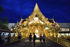 Buffet Restaurant in Fantasea, Phuket royalty free stock photo