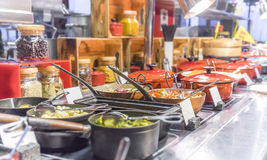 Buffet Restaurant Royalty Free Stock Photography