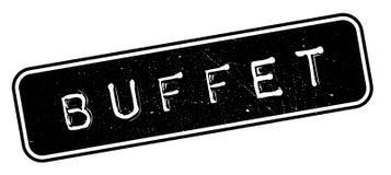 Buffet rubber stamp Stock Photos
