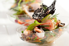 Buffet-Salat lizenzfreies stockbild