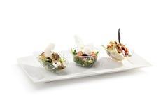 Buffet-Salate lizenzfreie stockfotografie