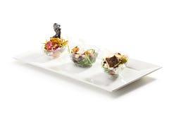 Buffet-Salate lizenzfreies stockfoto