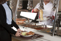 Buffet self-service Royalty Free Stock Photo
