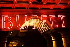 buffet sign Στοκ Φωτογραφία