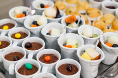 Buffet style food Stock Photography