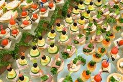 Buffet table Stock Photos