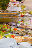 Buffet table Stock Photos