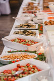 Buffet wedding drink snack Stock Photography
