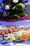 Buffet With Different Light Snacks. Royalty Free Stock Photography