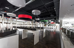 In the buffet at WWK Arena. In the buffet area of WWK Arena. Augsburg, Germany stock photos