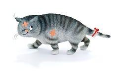 buffeted кот Стоковое Изображение