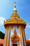 Buffle d'argent de Wat Phu Images libres de droits