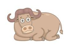 buffle illustration stock