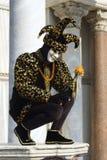 Buffon - mask from venice carnival Stock Image