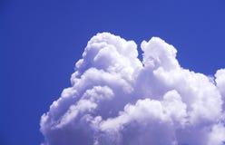 Bufiaste chmury Zdjęcia Royalty Free