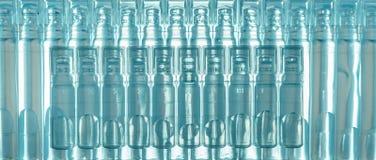 Bufus - gota plástica, ampola, tubo de ensaio, pulverizador Imagens de Stock Royalty Free