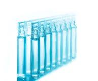 Bufus - gota plástica, ampola, tubo de ensaio, pulverizador Fotos de Stock
