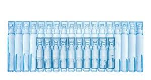 Bufus - klingeryt kropla, ampułka, buteleczka, kiść Obrazy Stock