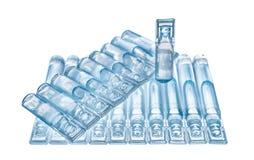 Bufus - plast- droppe, ampull, liten medicinflaska, sprej Royaltyfri Fotografi
