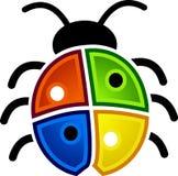 Bug, Animal, Nature, Windows Royalty Free Stock Images