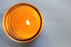 Bug In Candle stock photo