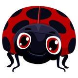 Bug Cartoon夫人 皇族释放例证