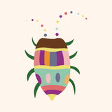 Bug cartoon elements vector,eps. Vector illustration file Royalty Free Stock Photo