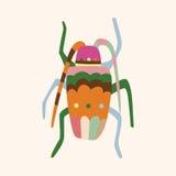 Bug cartoon elements vector,eps. Vector illustration file Stock Photo