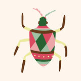 Bug cartoon elements vector,eps Royalty Free Stock Images