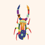 Bug cartoon elements vector,eps. Vector illustration file Stock Images
