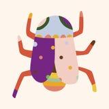 Bug cartoon elements vector,eps. Vector illustration file Royalty Free Stock Image