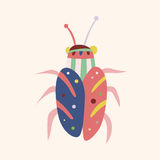 Bug cartoon elements vector,eps Stock Photo