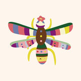 Bug cartoon elements vector,eps. Vector illustration file Royalty Free Stock Images