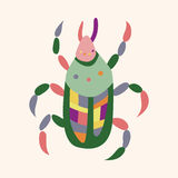 Bug cartoon elements vector,eps Stock Images