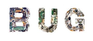 Bug electronic Royalty Free Stock Image