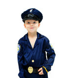 Bug-eyed Policeman Royalty Free Stock Image