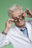 Bug-Eyed Professor Royalty Free Stock Photo