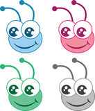 Bug Head Colors Stock Image