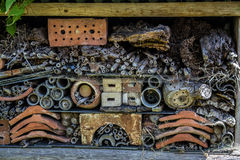 Bug hotel Royalty Free Stock Photo