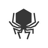 bug icon. Insect design. Vector graphic Stock Image