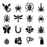 Bug & Insect icon Stock Images