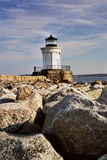Bug Light Lighthouse. In Maine Stock Image