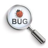 Bug Loupe Royalty Free Stock Photography