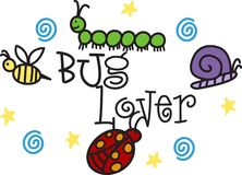 Bug Lover Royalty Free Stock Photography