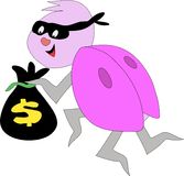 Bug Money Thief Stock Photos