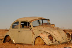 Bug in the Outback. Abandoned Beetle in Australian Outback Royalty Free Stock Photography