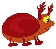 Bug (vector clip-art). Vector clip-art /children's illustration for your design Stock Image